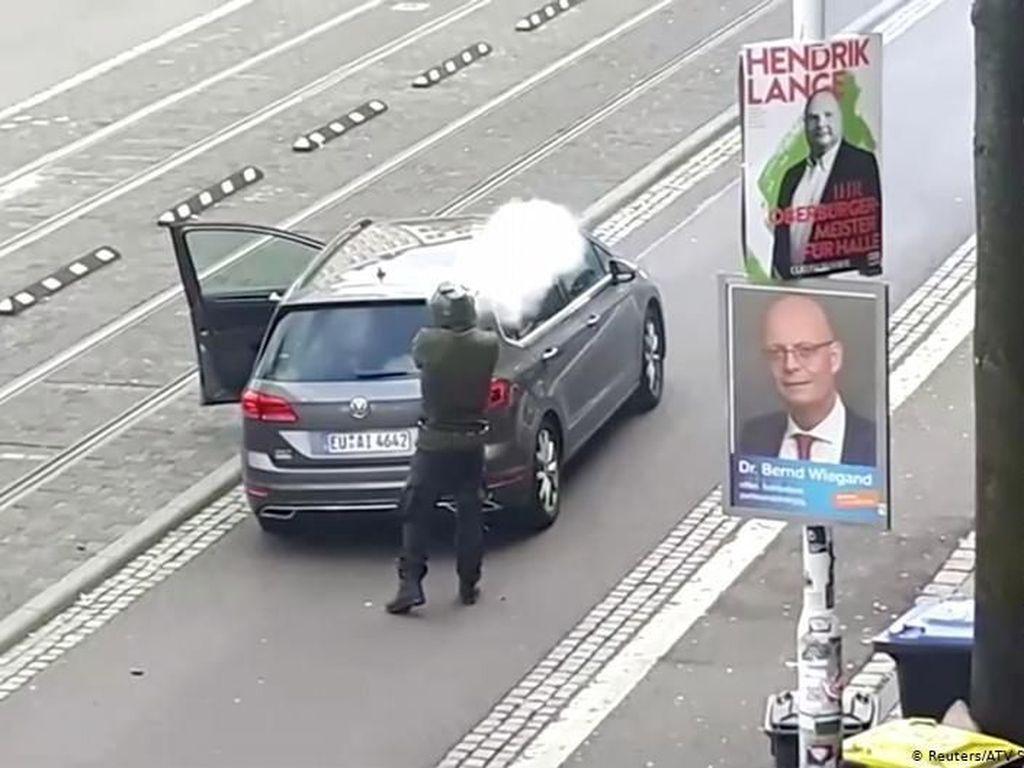 Polisi Jerman: Motif Penembakan di Dekat Sinagoge Diduga Anti-Semitisme