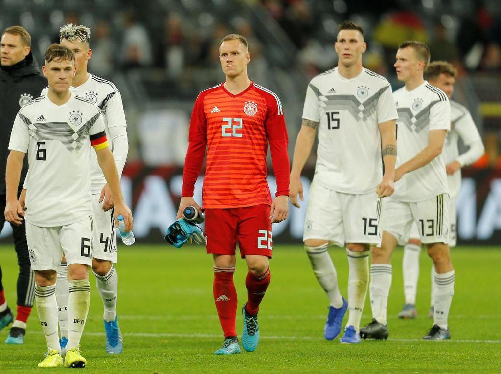 Tak Konsisten, Jerman pun Buang Keunggulan Dua Gol saat Jumpa Argentina