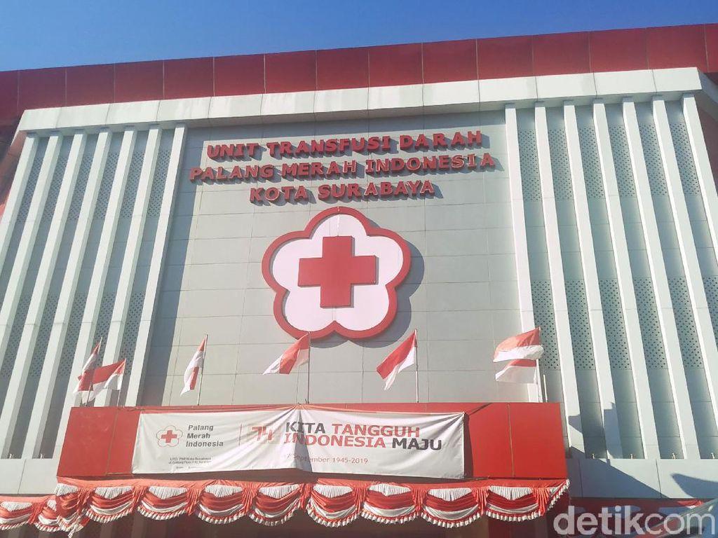 PMI Surabaya Pecahkan Rekor MURI Jelang HUT Palang Merah Indonesia