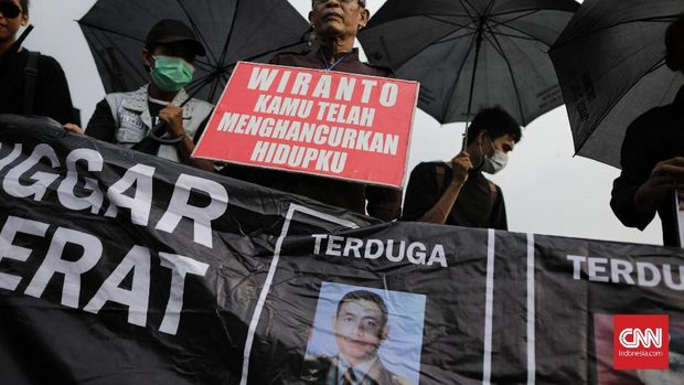 100 Hari Kerja Jokowi Mengingkari Penuntasan Pelanggaran HAM