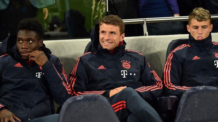 Thomas Mueller belakangan lebih sering jadi pemain pengganti di Bayern Munich (Foto: Glyn KIRK / IKIMAGES / AFP)