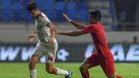 Babak I UEA Vs Indonesia: Skuat Garuda Tertinggal 0-1
