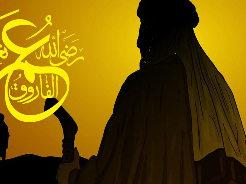 Kisah Sahabat Nabi: Umar bin Khattab yang Keras Tapi Lembut