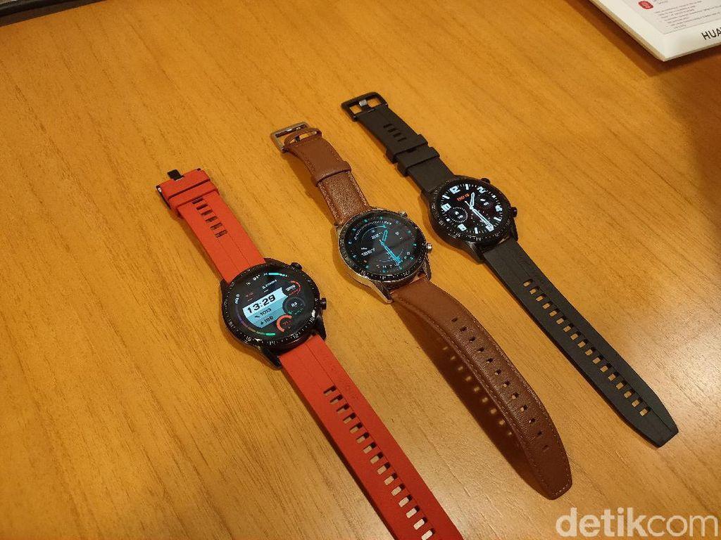 Wujud Huawei Watch GT 2 yang Baterainya Awet 2 Minggu