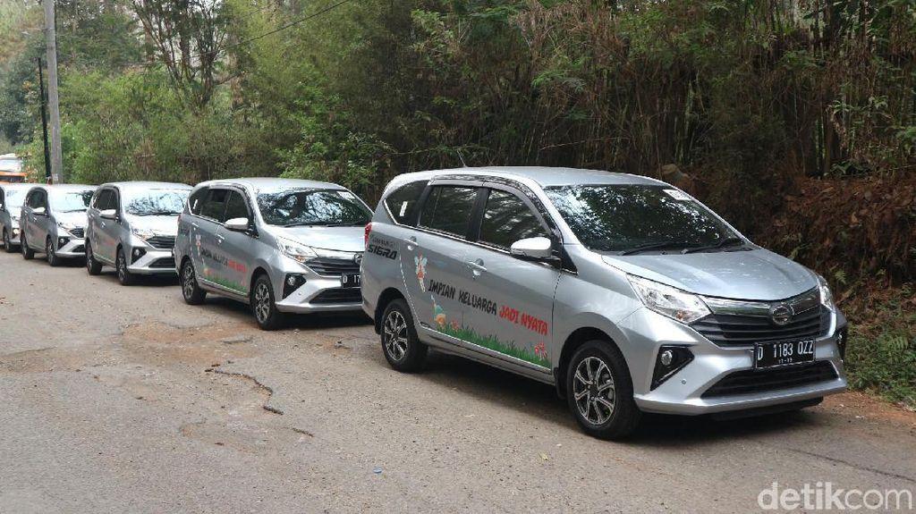 Test Drive Daihatsu Sigra di Bandung