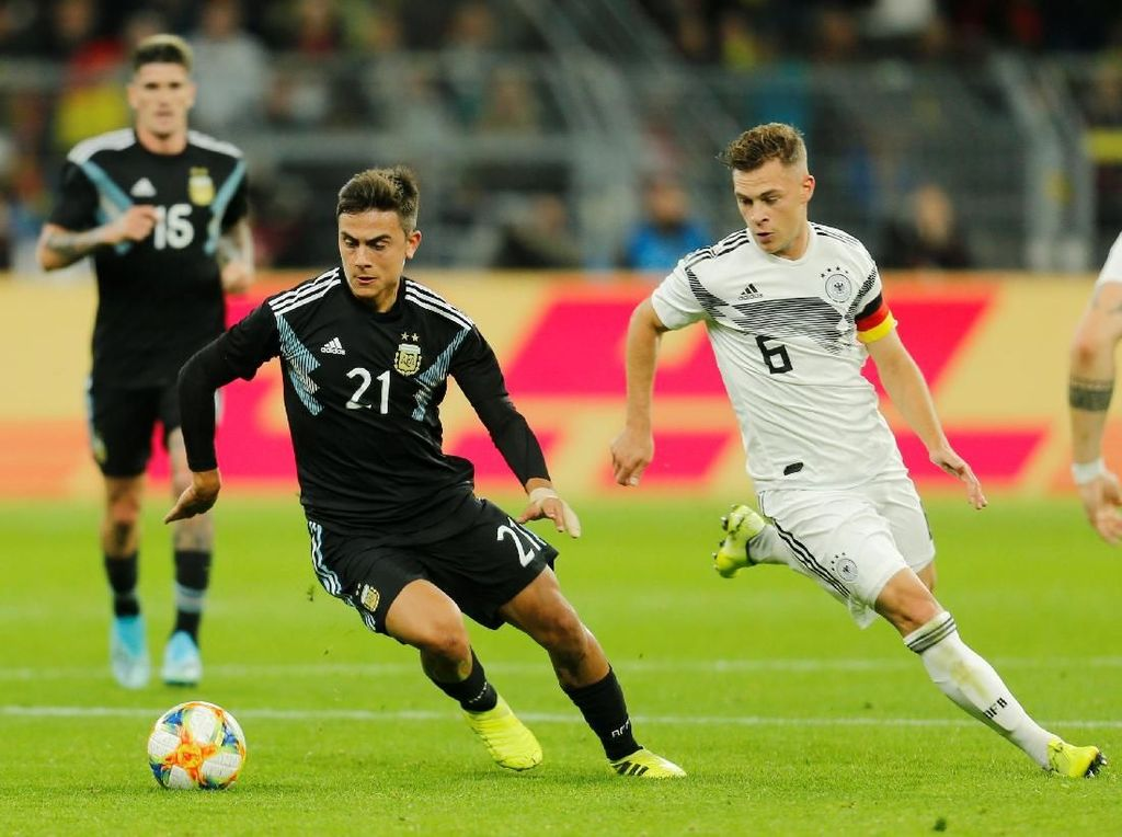 Jerman Vs Argentina Tuntas 2-2