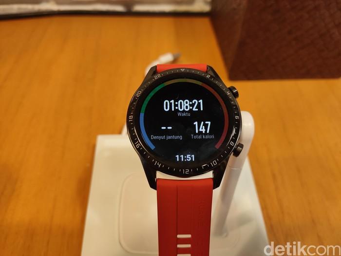 Huawei Watch GT2. Foto: Virgina Maulita Putri/detikinet