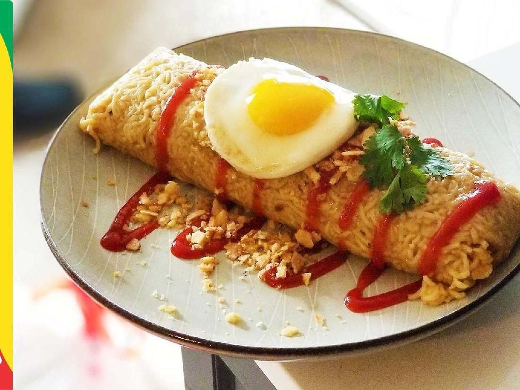 Yuk! Bikin Burrito Indomie ala Ramen Rater yang Gurih Mantap