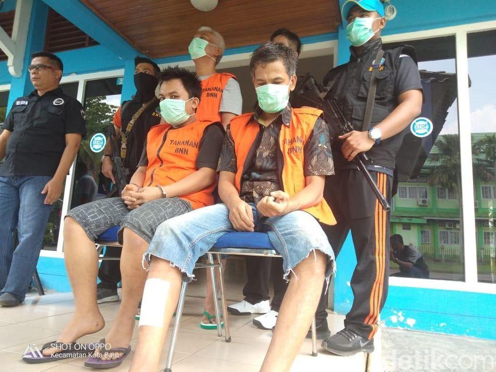 Jadi Kurir Sabu Napi Lapas Pekanbaru, Aiptu Rudi Ditangkap BNN Jambi