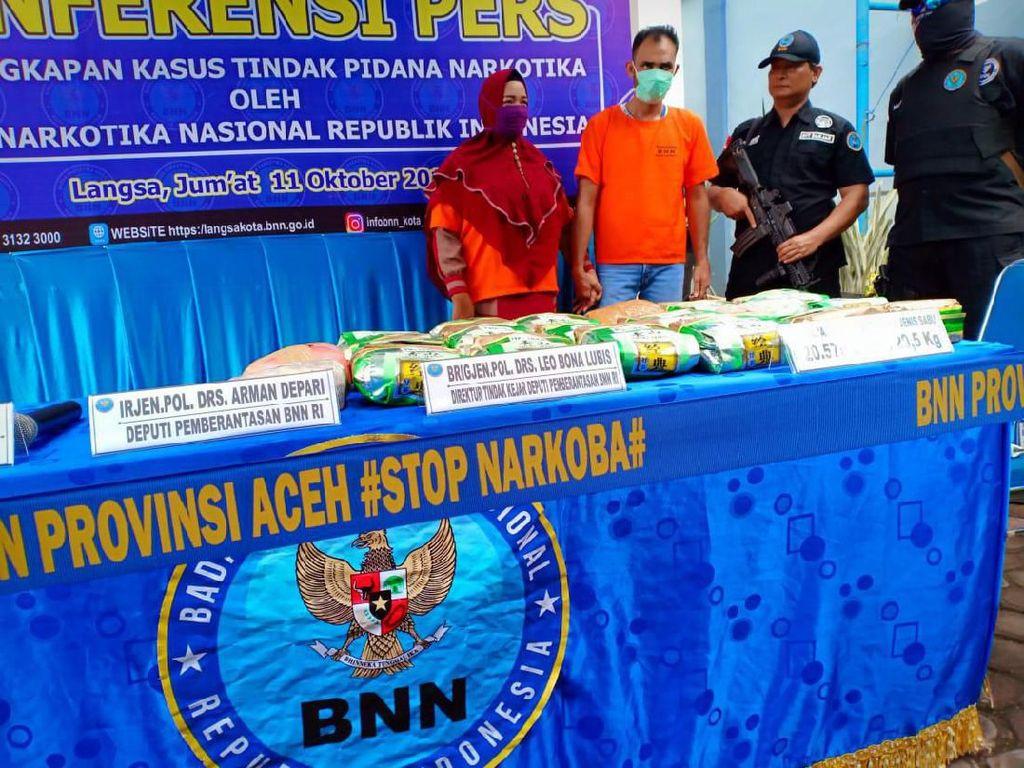 BNN Ciduk Penyuplai Sabu ke Lapas Aceh, Satu Tewas di Dor