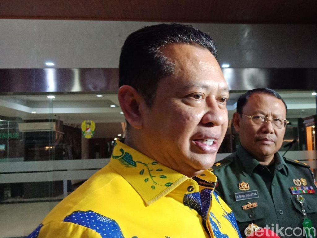 Bamsoet: Penusukan Wiranto Warning Bagi Petugas Pengamanan