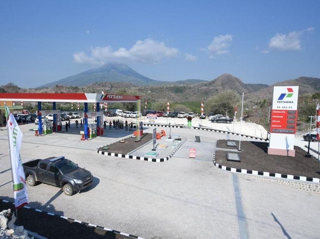 Pertamina Tuntaskan Pembangunan SPBU BBM Satu Harga di 172 Titik