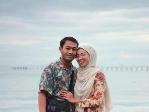 Foto Sebelum & Sesudah Menikah Pasangan Muda Ini Bikin Takjub Netizen