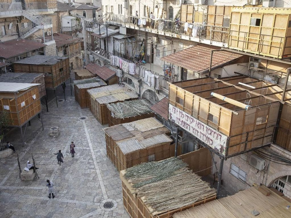 Mengintip Persiapan Perayaan Sukkot di Yerusalem