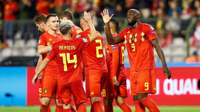 Belgia membanti San Marino 9-0 dalam lanjutan Kualifikasi Piala Eropa 2020 (Foto: REUTERS/Francois Lenoir)