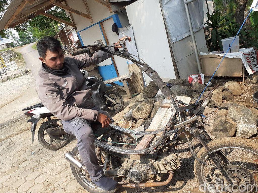 Keuyeup, Motor Chopper dari Pelosok yang Kuat Angkut Beban Berat