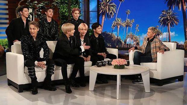SuperM di The Ellen DeGeneres Show