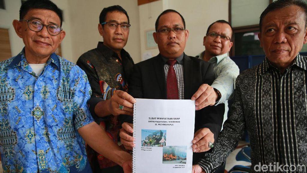 Forum Lintas Paguyuban Sambangi Komnas HAM Soal Wamena