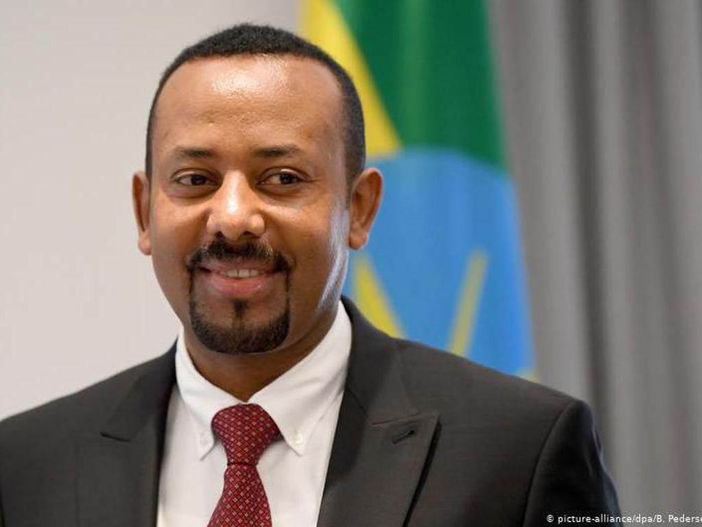 PM Ethiopia Abiy Ahmed Dianugerahi Hadiah Nobel Perdamaian 2019