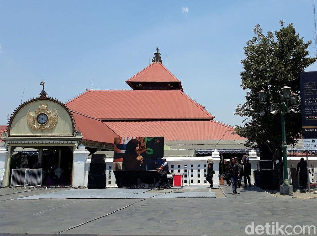 Pandemi Corona, Masjid Gedhe Kauman Yogya Tiadakan Tarawih Berjamaah