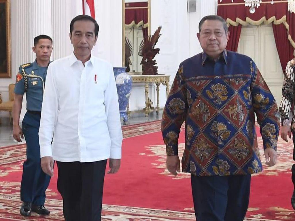 SBY: Selamat Bekerja Pak Jokowi, Rakyat Berharap Masa Depan Cerah