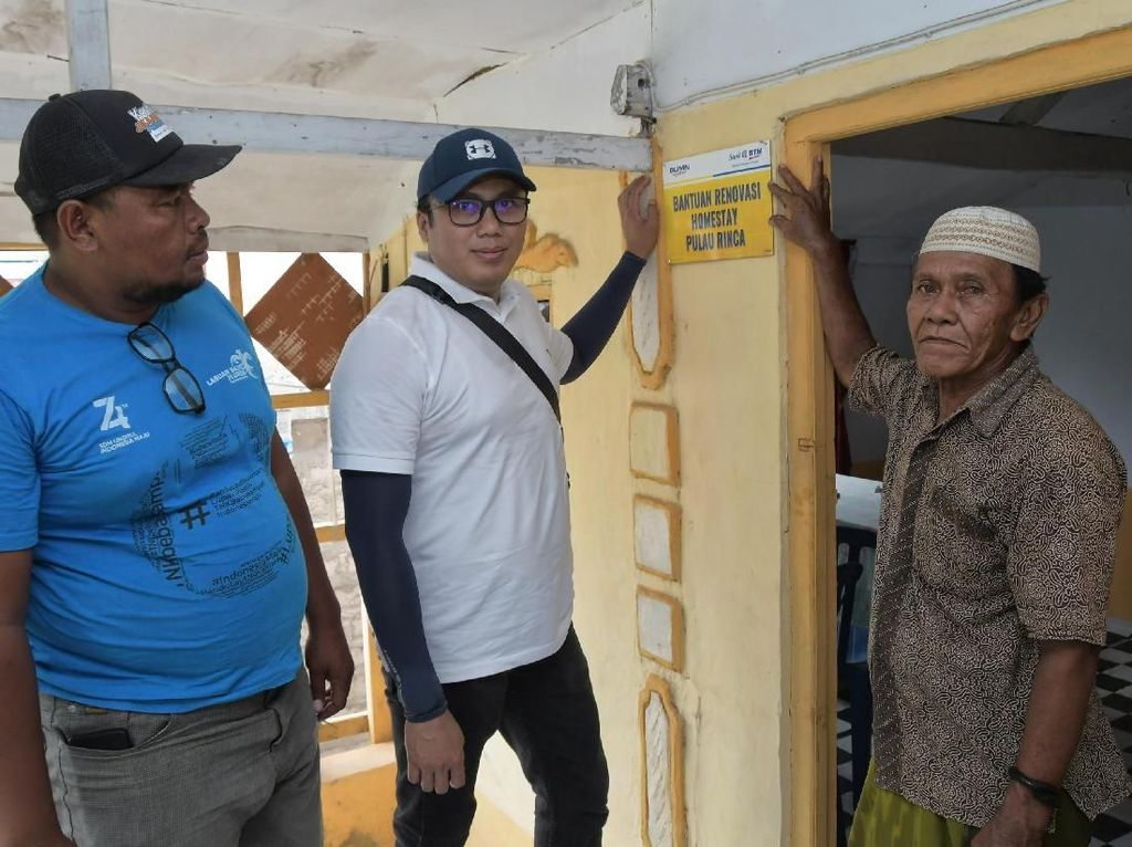 Tinjau Renovasi Homestay di Timur Indonesia