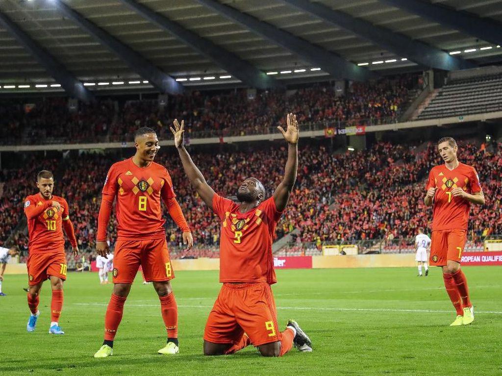 Hajar San Marino Setengah Lusin Lebih, Belgia Lolos ke Piala Eropa