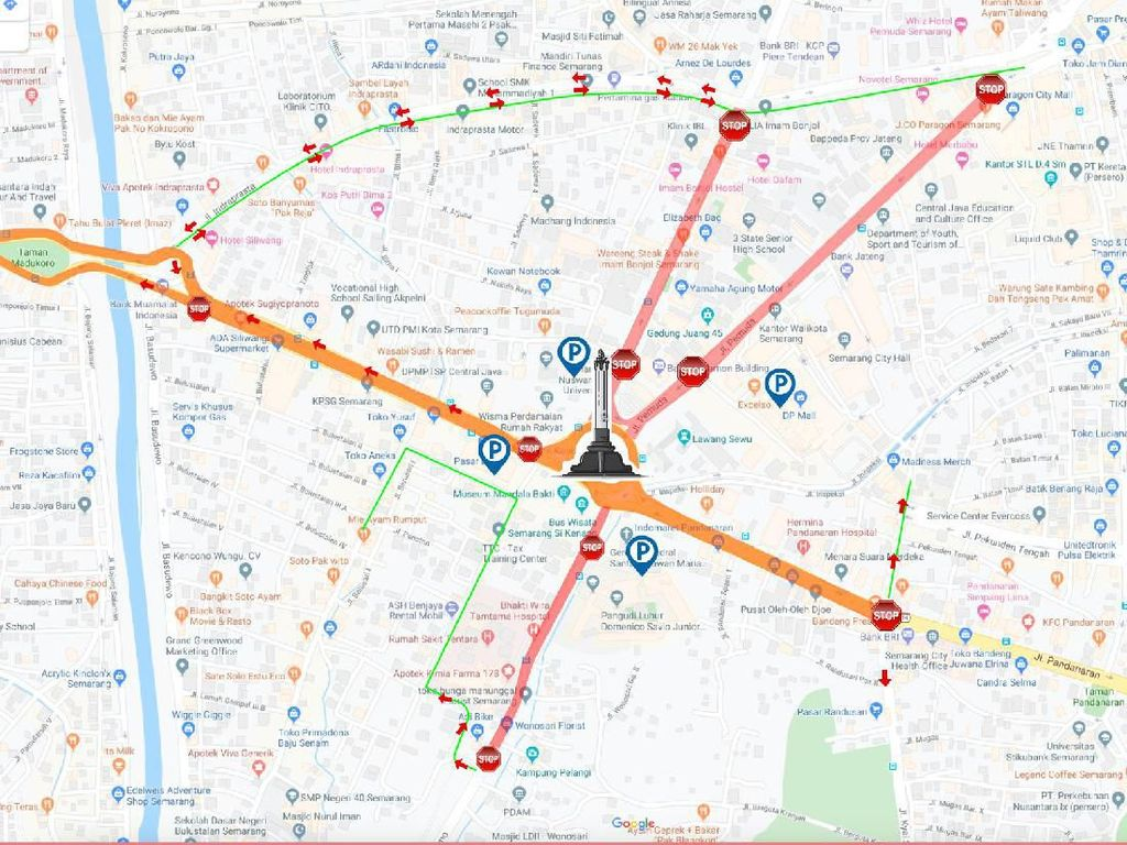 Peringati Pertempuran Lima Hari, Pemkot Semarang Tutup 5 Ruas Jalan