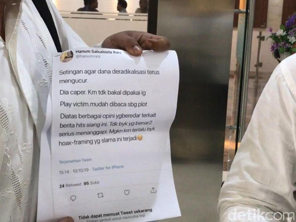 Hanum Rais Dilaporkan ke Polisi soal Cuitan Penusukan Wiranto