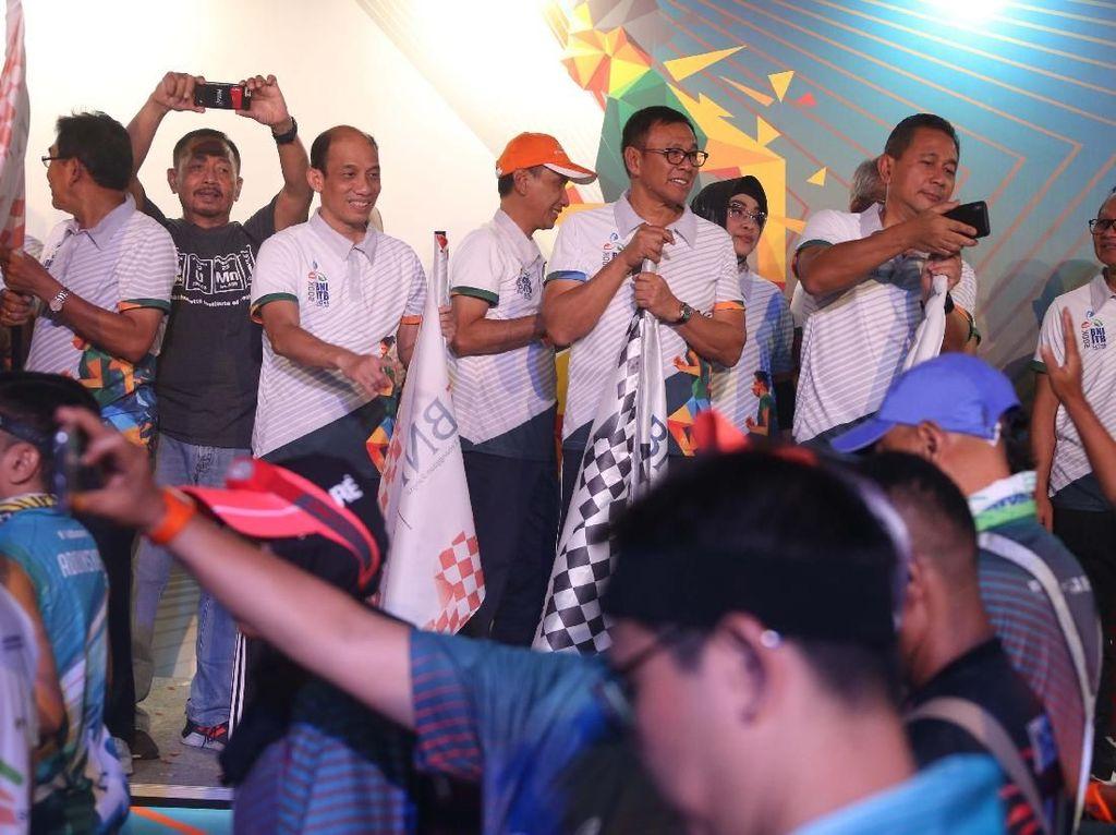 Ribuan Peserta Ramaikan BNI-ITB Ultra Marathon