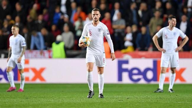 Inggris dikalahkan Republik Ceko 1-2 di Kualifikasi Piala Eropa 2020 (Foto: Justin Setterfield/Getty Images)