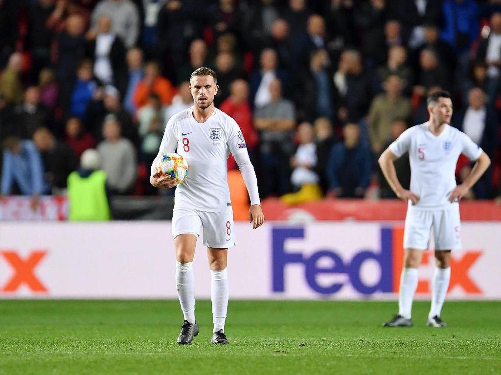 Setelah 10 Tahun, Inggris Kalah di Laga Kualifikasi