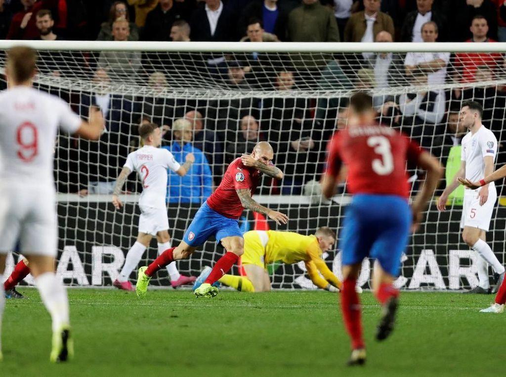 Kualifikasi Piala Eropa 2020: Inggris Keok di Republik Ceko