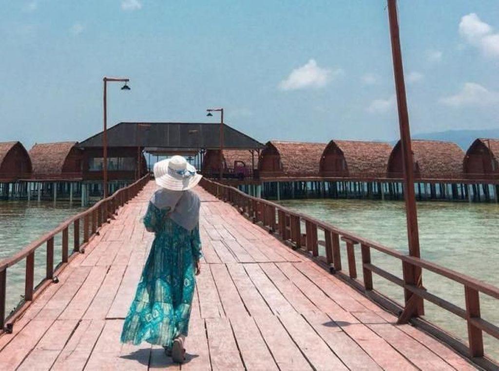 Pulau Tegal Mas, Wisata ala Maldives di Lampung