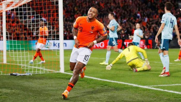 Belanda tak akan diperkuat Memphis Depay saat menghadapi Belarusia di Kualifikasi Piala Eropa 2020 (Foto: Andrew Boyers/Action Images via Reuters)
