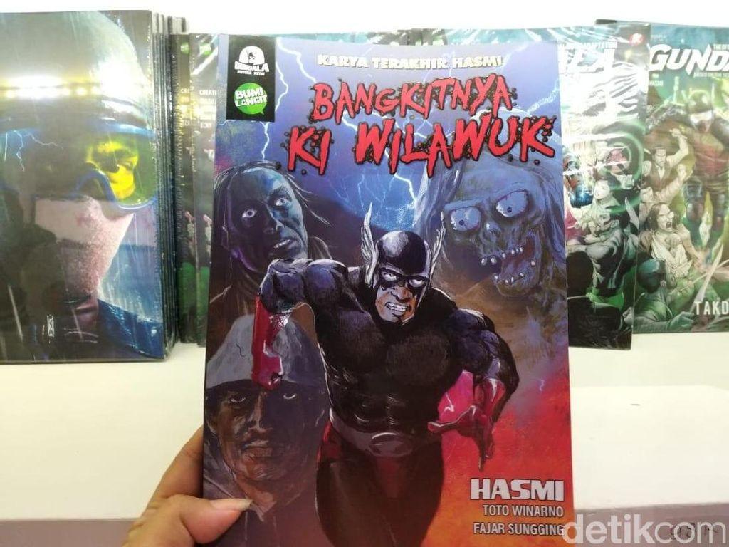 Bumilangit Rilis Komik Bangkitnya Ki Wilawuk di Indonesia Comic Con