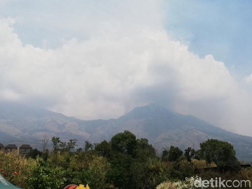 Kebakaran di Gunung Arjuno dan Welirang Belum Bisa Dipadamkan