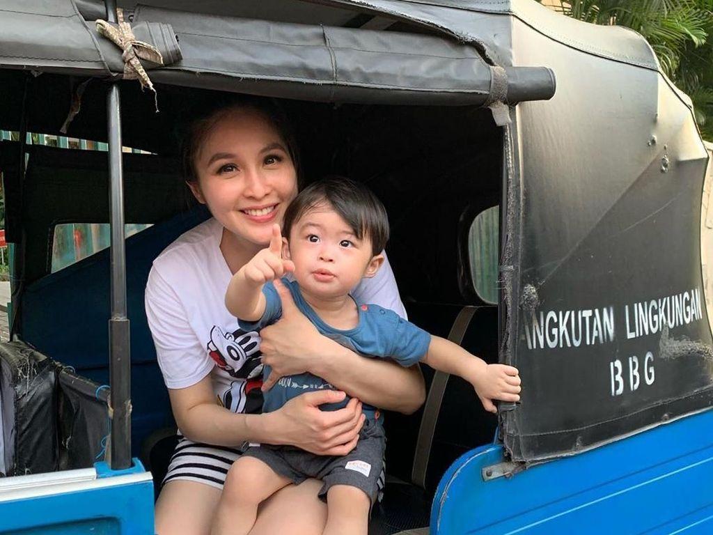 Waspada Virus, Sandra Dewi Larang Anaknya Sekolah