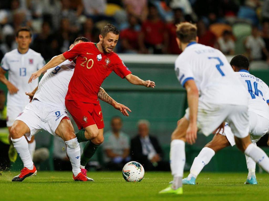 Kualifikasi Piala Eropa 2020: Portugal Bungkam Luksemburg 3-0