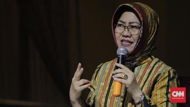 Pakar politik Prof R Siti Zuhro menjadi narasumber dalam diskusi bertema Peta Politik Usai