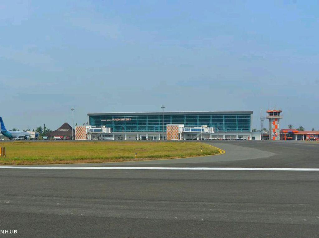 Radin Inten bakal Jadi Bandara Internasional