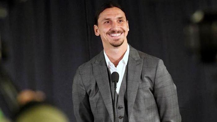 Zlatan Ibrahimovic dikabarkan merapat ke AC Milan. (Foto: Reuters)