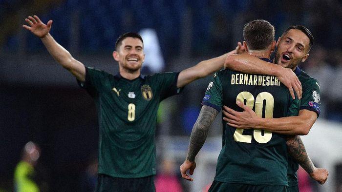 Timnas Italia merebut tiket ke Piala Eropa 2020. (Foto: Marco Rosi/Getty Images)
