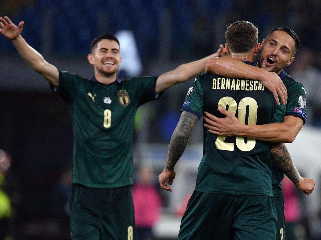 Italia ke Piala Eropa 2020 dengan Gairah