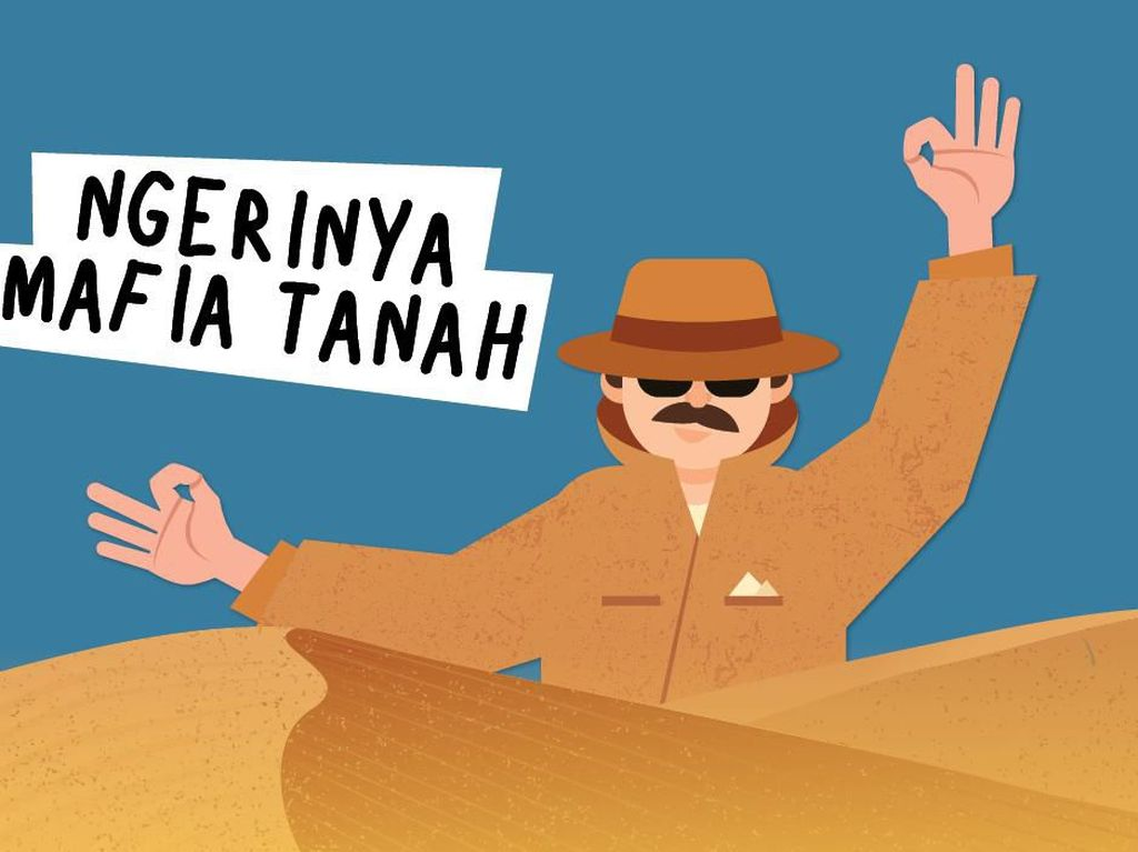 Praktik Mafia Berkedok Pembuat Akta Tanah Terbongkar