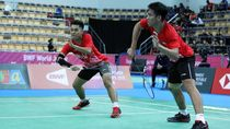 Ganda Putra Indonesia Raih Emas di Kejuaraan Dunia Bulutangkis Junior