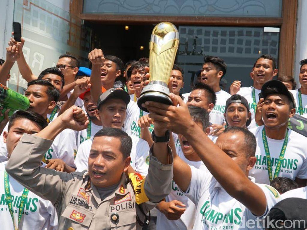 Juara Liga 1, Persebaya U-20 akan Dapat Hadiah dari Polisi Surabaya