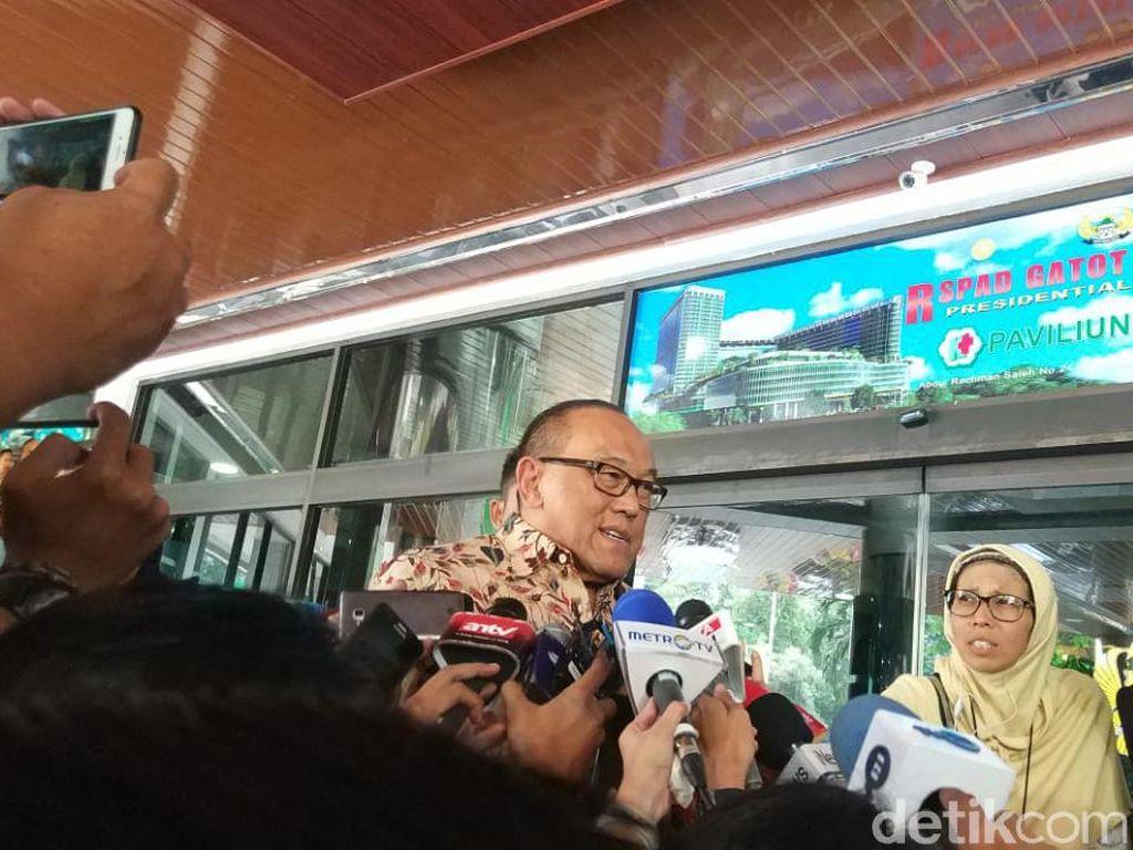 Jenguk Wiranto, Ical: Kelingkingnya Luka Menangkis Serangan