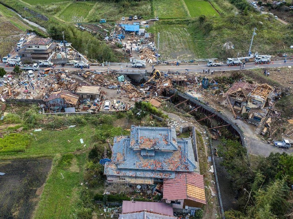Korban Tewas Topan Hagibis Jepang Bertambah Lagi Jadi 23 Orang