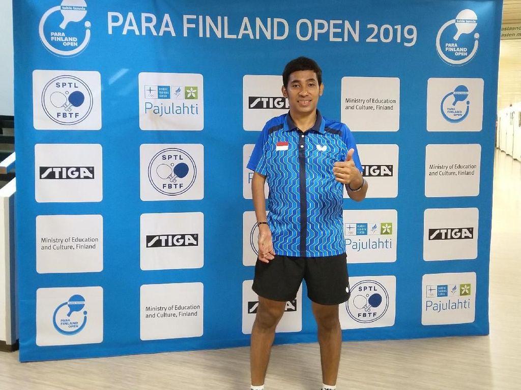 Atlet Indonesia Juara Para Tenis Meja Finland Open 2019